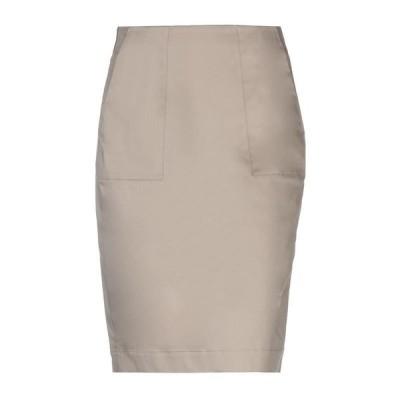 PESERICO ひざ丈スカート  レディースファッション  ボトムス  スカート  ロング、マキシ丈スカート ドーブグレー