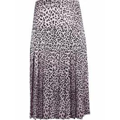 Alessandra Rich レディーススカート Alessandra Rich Leopard Print Skirt Basic
