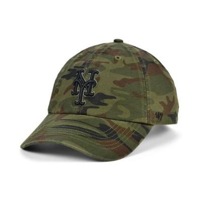 47ブランド メンズ 帽子 アクセサリー New York Mets Regiment CLEAN UP Cap