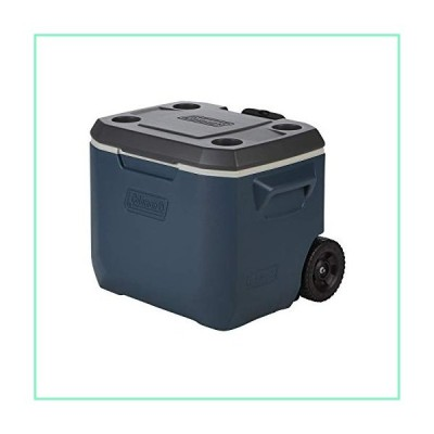 Coleman 50-Quart Xtreme 5-Day Heavy-Duty Cooler with Wheels/Slate【並行輸入品】