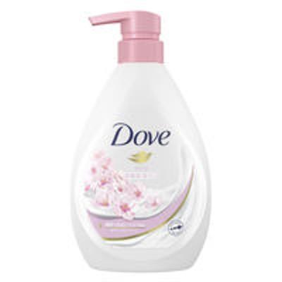 ユニリーバ【数量限定】ダヴ(Dove) ボディウォッシュ(ボディソープ) 桜(さくら)サクラ ポンプ 500g