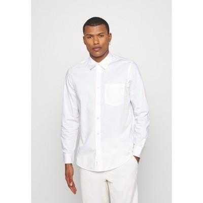 アーケット シャツ メンズ トップス Shirt - white