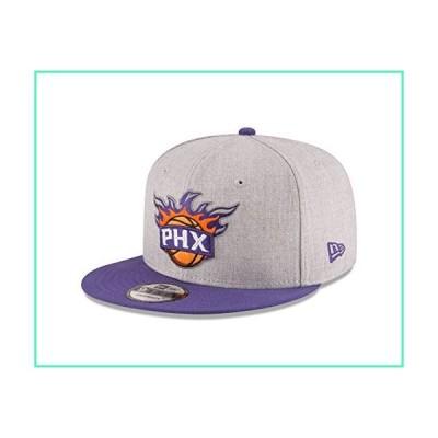 NBA Phoenix Suns Adult Men NBA 9Fifty 2Tone Heather Snapback Cap,OSFA,Heather Gray並行輸入品