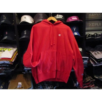 Champion USA REVERSE WEAVE HOOD RED