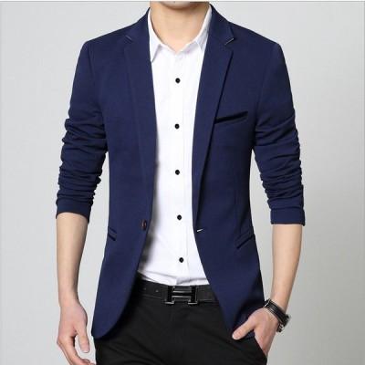ビジネススーツ メンズ スーツ セットアップ 1つボタン 安い シングル おしゃれ ストレッチ メンズファッション 秋 春夏 スーツハンガー付属