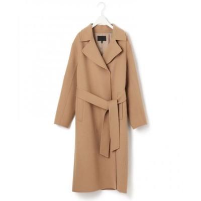 ICB/アイシービー 【マガジン掲載】WoolRever ベルテッドコート(番号CJ25) キャメル系 6
