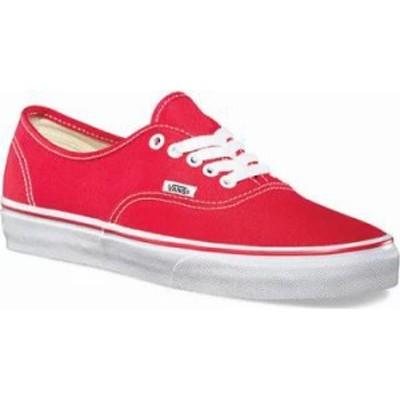 Vans メンズスニーカー Vans Authentic Sneaker Red
