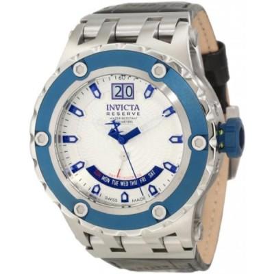 インビクタ 腕時計 メンズウォッチ Invicta Men's 10101 Subaqua Reserve White Textured Dial Watch