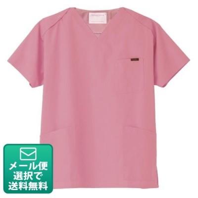 医療用スクラブ 7000SC ピンク SSサイズ(メール便1点まで)