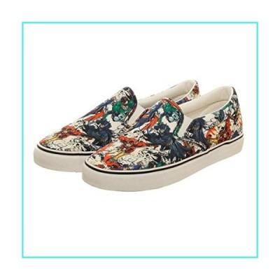【新品】Justice League Unisex Dek Shoes - Size 12(並行輸入品)