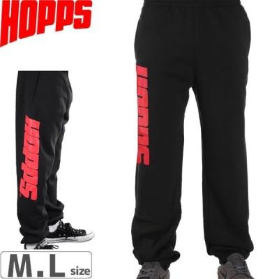 HOPPS ホップス スケボー パーカー BIG HOPPS SWEAT PANTS ブラック NO1