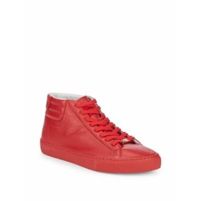 トゥルー リリジョン メンズ スニーカー Leather Hi-Top Sneakers