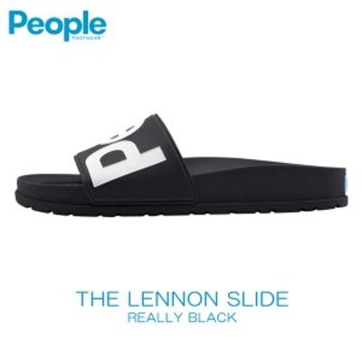 ピープルフットウェア People Footwear 正規販売店 メンズ 靴 サンダル THE LENNON SLIDE NC04S-001 REALLY BLACK