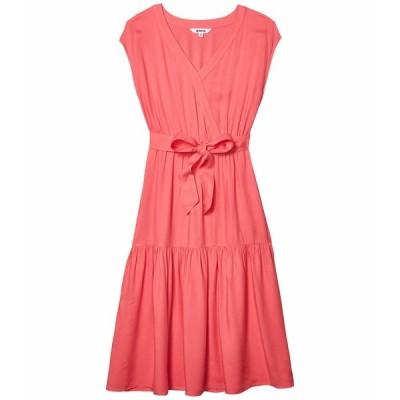 ビービーダコタ ワンピース トップス レディース Holding On Rayon Twill Belted Midi Dress Poppy