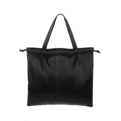 <ELENDEEK/エレンディーク> PLEATS TOTE BAG ブラック【三越伊勢丹/公式】