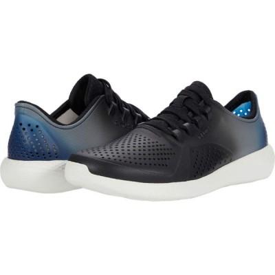 クロックス Crocs メンズ スニーカー シューズ・靴 LiteRide Color Dip Pacer Black/Almost White