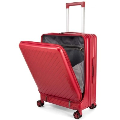 Osonm スーツケース キャリーバッグ コンピュータケース 機内持込可 厚くする 耐摩耗 二重ファスナー 八輪キャスター 静音設計 TSAロック搭載 3022 (L