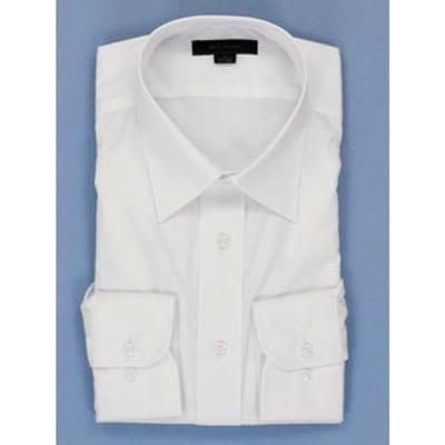 形態安定抗菌防臭レギュラーフィット レギュラーカラー長袖ビジネスドレスシャツ/ワイシャツ
