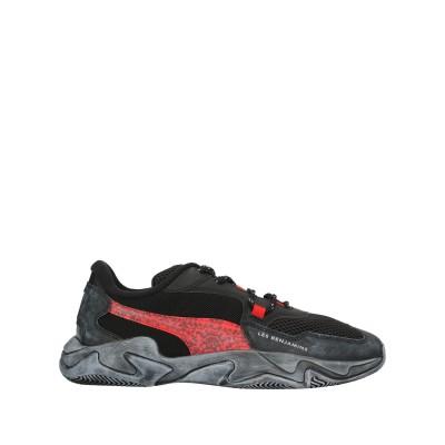 PUMA x LES BENJAMINS スニーカー&テニスシューズ(ローカット) ブラック 10.5 紡績繊維 スニーカー&テニスシューズ(ローカ