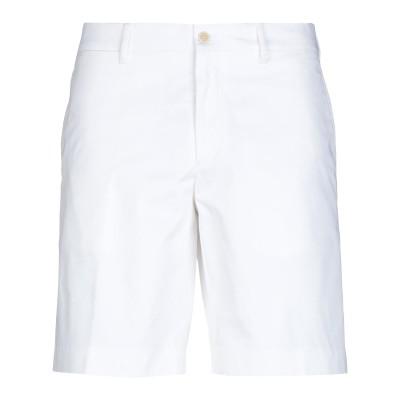 プラダ PRADA バミューダパンツ ホワイト 56 コットン 97% / ポリウレタン 3% バミューダパンツ