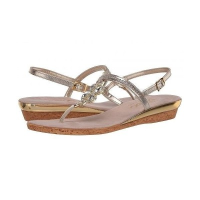 Onex オネックス レディース 女性用 シューズ 靴 サンダル Taylor - Platinum