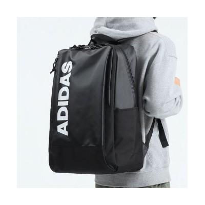 (adidas/アディダス)アディダス リュック 30L adidas リュックサック 大容量 通学用 中学生 通学リュック 高校生 スクールバッグ バックパック 撥水 A3 62793/ユニセックス ブラック系1