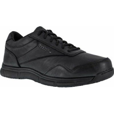 リーボック レディース スニーカー シューズ Jorie LT RB113 Slip Resistant Athletic Oxford Black Polyurethane