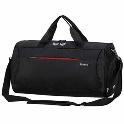 【送料無料】Kuston Sports Gym Bag with Shoes Compartment Travel Duffel Bag for Men and Women [並行輸入品]