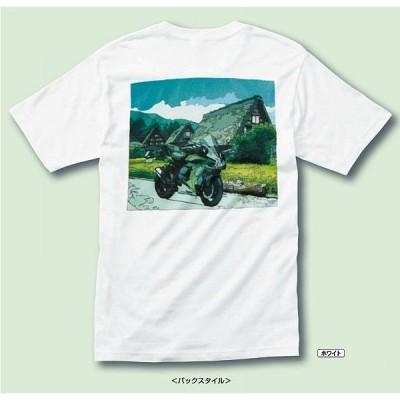 【在庫あり】KAWASAKI純正 J8901-0764 カワサキ カントリーロード Tシャツ(Ninja H2 SX SE+)