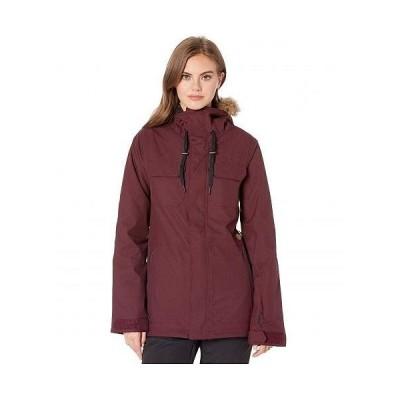 Volcom Snow ヴォルコム レディース 女性用 ファッション アウター ジャケット コート スキー スノーボード ジャケット Shadow Insulated Jacket - Merlot