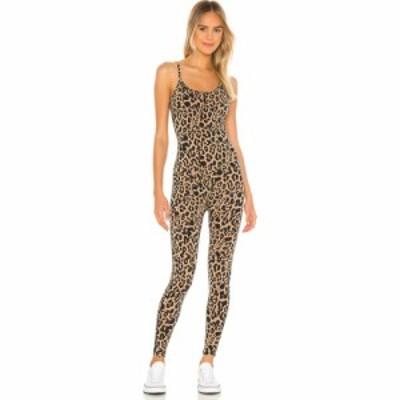 エルエヌエー LNA レディース オールインワン ワンピース・ドレス Leopard Onesie Leopard