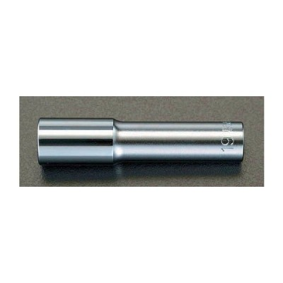 """エスコ ESCO 1/2""""sqx21mm ロングサイズホイールナット用ソケット EA618CY-121"""