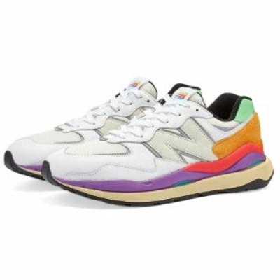 New Balance ニューバランス M5740LA スニーカー メンズ シューズ 白 限定モデル New Balance Men's Shoes M5740LA White 送料無料 父の