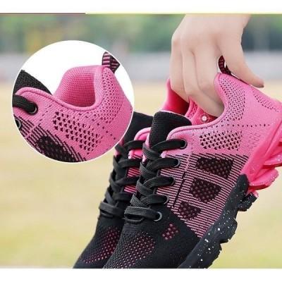 スニーカーレディースランニングシューズスポーツ靴運動靴スニーカー痛くない履きやすいシンプル春夏カジュアル厚底脚長効果走れる