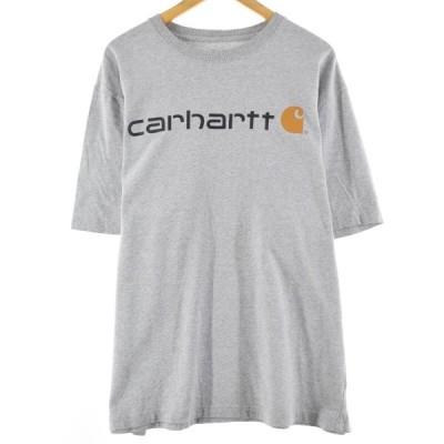 カーハート Carhartt ORIGINAL FIT 半袖 ロゴTシャツ メンズXL /eaa153065