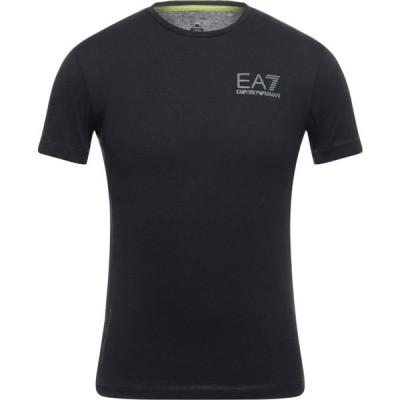イーエーセブン EA7 メンズ Tシャツ トップス t-shirt Black