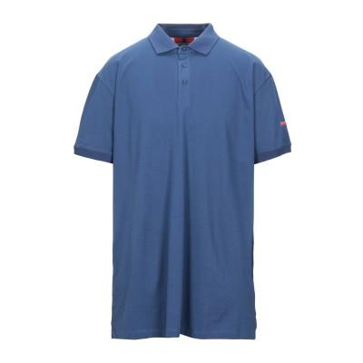 インヴィクタ INVICTA ポロシャツ ブルー 3XL コットン 92% / ポリウレタン 8% ポロシャツ