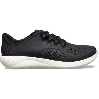 クロックス スニーカー シューズ レディース Crocs Women's LiteRide Pacer Shoes Black