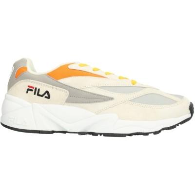 FILA スニーカー&テニスシューズ(ローカット) グレー 39 紡績繊維 / 革 スニーカー&テニスシューズ(ローカット)