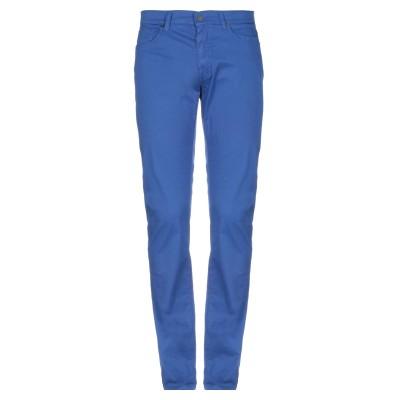 ビッケンバーグ BIKKEMBERGS パンツ ブルー 31 コットン 97% / ポリウレタン 3% パンツ