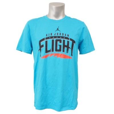 ジョーダン/JORDAN レトロ 5 ファイター フライト Tシャツ ブルー 658557-428 レアアイテム
