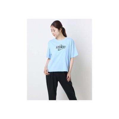 ナイキ NIKE レディース 半袖Tシャツ ナイキ ウィメンズ NSW ボクシー ネイチャー S S Tシャツ DD1457-436 (ブルー)