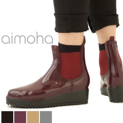 レインブーツ ショート レディース おしゃれ ショート サイドゴア オックスフォード 靴 軽量 防水 撥水 長靴 台風 雨 ハンター フェス