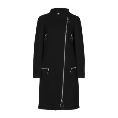 モスキーノ MOSCHINO コート ブラック 38 バージンウール 80% / ナイロン 20% コート
