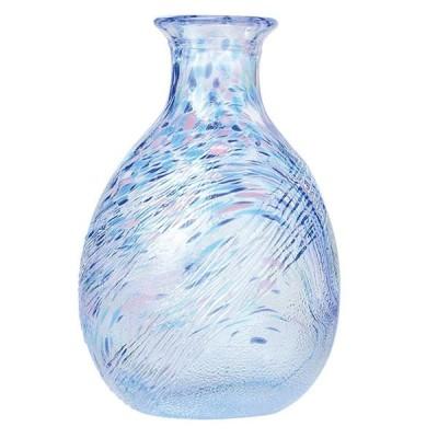 徳利 ブルー 240ml 東洋佐々木ガラス(WA171-1pc) キッチン、台所用品