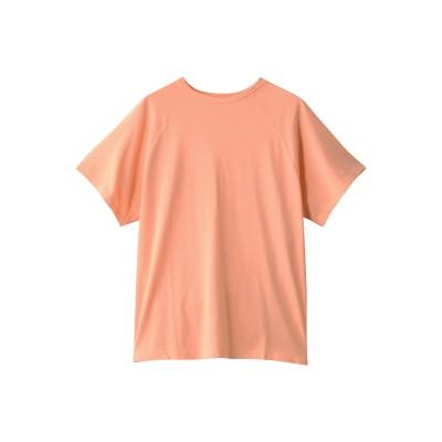 JAMAIS VU ジャメヴ ワンコットン 無地半袖Tシャツ レディース オレンジ 1(FREE)