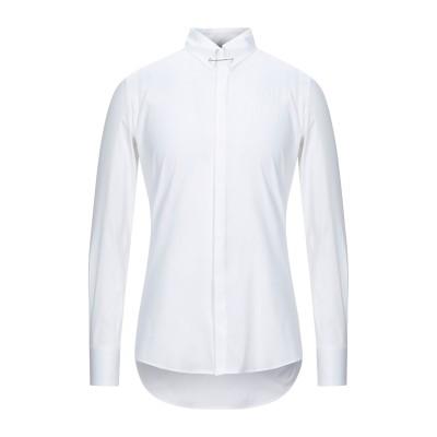 ディースクエアード DSQUARED2 シャツ ホワイト 48 コットン 97% / ポリウレタン 3% シャツ