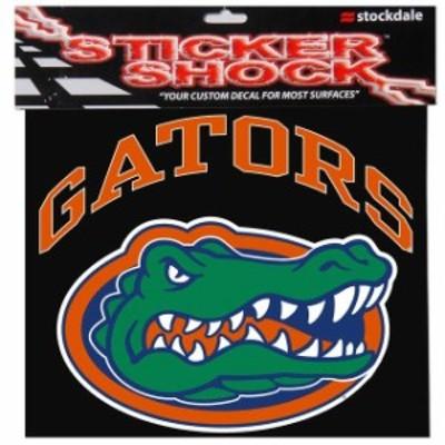 Stockdale ストックデール スポーツ用品  Florida Gators 12 x 12 Arched Logo Decal