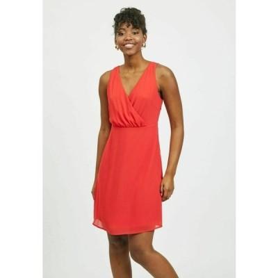 ヴィラ ワンピース レディース トップス Cocktail dress / Party dress - mars red