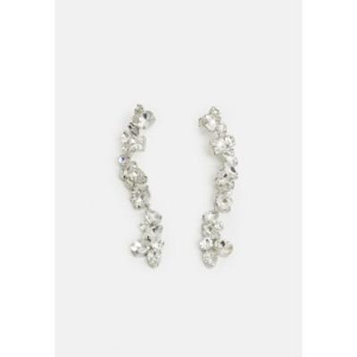 ピーシーズ レディース ピアス&イヤリング アクセサリー PCCARDIA EARRINGS - Earrings - silver-coloured silver-coloured